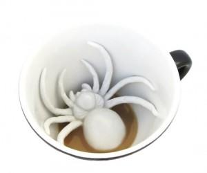 Creepy Spider Mug – Sure to wake anyone up!
