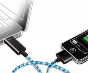 Never trip over an iPhone cord again with the light up iPhone cable!