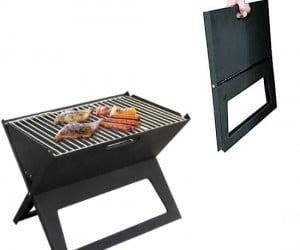 Foldable Grill – Is there anything that can't fold flat these days?