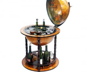 Nothing classes up the place like a 16th century Italian styled globe bar.