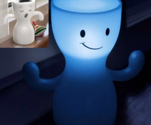 Solar Powered Lamp – This cute little guy charges during the day and stays lit up all night.