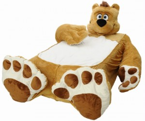 "Nothing helps you sleep better than snuggling up next to a teddy bear, just imagine how good you will sleep when your entire bed is the bear! ""In Soviet Russia, […]"