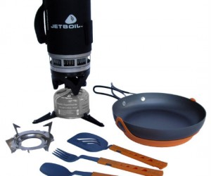 Backcountry Gourmet Cooking Set – Perfect for making stuffed lamb or croque monsieur whilst huddled up in cave.