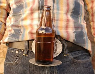 buckle beer holder