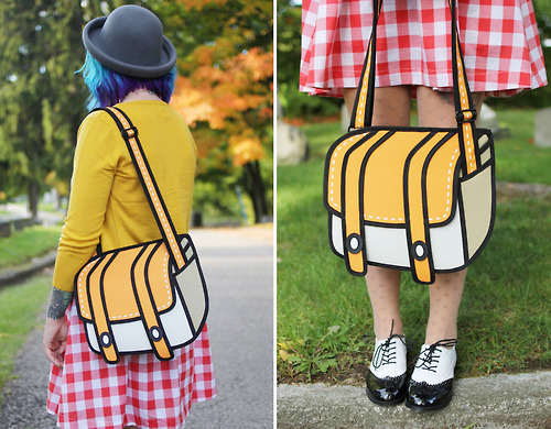 cartoon purse