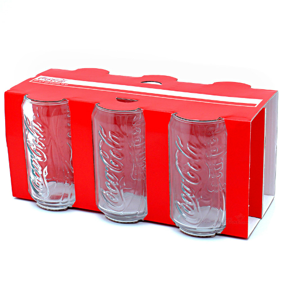 Coca Cola Can Glass Set | Shut Up And Take My Money