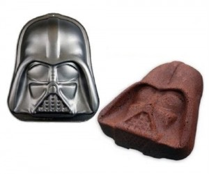 Darth Vader Cake Pan – Enjoy the Dark Side of that delicious Devil's food cake you know you're about to bake.