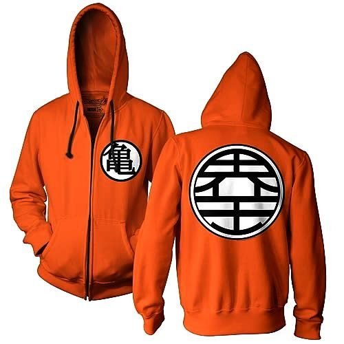 Channel your inner Goku with this stylish Dragon Ball Z hoodie !