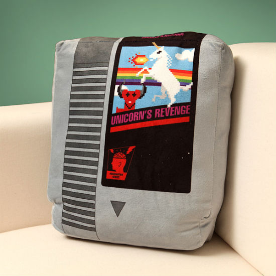 retro gaming pillow