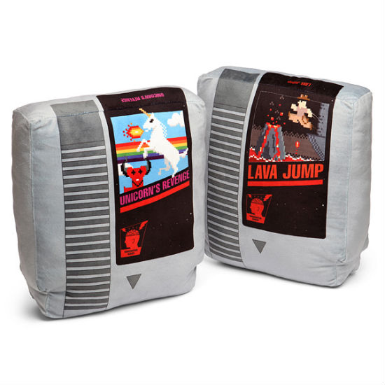 retro nes pillows