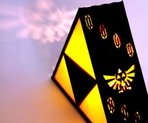 Triforce Lamp – Last much longer than your burning Deku Stick.