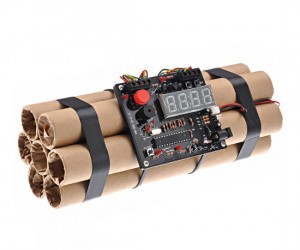 Bomb Alarm Clock – You aredefinitelygoing to get out of bed if you have to defuse your alarm clock to get it to turn off.