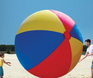 Giant Beach Ball = Giant Fun!