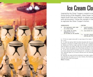 Star Wars Cook Book – Star Wars also has a cold side with lots of delicious chilled treats, sounds delicious it does!
