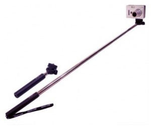 Hand Held Monopod – Now you don't have to ask a stranger to take your photo for you.