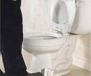 Toilet Seat Lifter – Stand on the pedal to lift the seat and it falls back down when you're done. Now you don't have to be nagged about remembering to […]