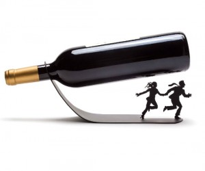 Now you can drink wine as if your life depended on it!