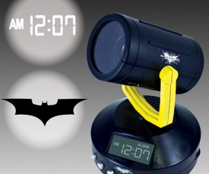 Project the bat signal onto your wall and see how long it will take for Batman to show up, he probably won't, but it's worth a shot right?