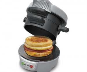 Have breakfast any time of the day with your very own breakfast sandwich maker.