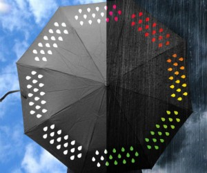 Color Changing Umbrella – The only umbrella that changes color when it gets wet!