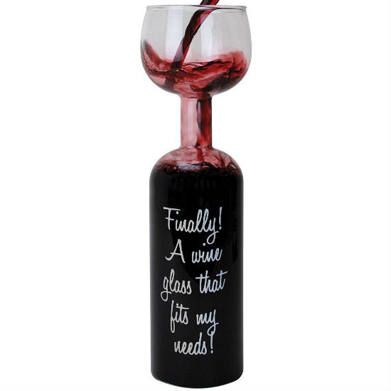 Wine bottle glass shut up and take my money for Glass bottle gift ideas