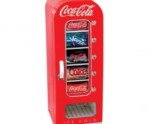 Personal CocaCola Vending Machine – Have a freshly vended ice cold soda whenever you want!