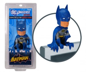 Batman will sit atop your computer monitor protecting you from viruses and hackers, because he's the hero your computer deserves…