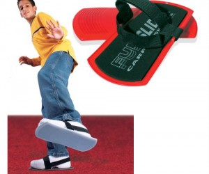 Carpet Skates –  So much better than sliding on the carpet in your socks.