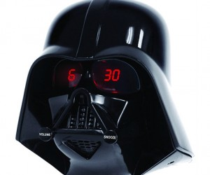 Darth Vader Clock Radio – It may be bright and sunny out, but that doesn't mean you can't wake up on the dark side.