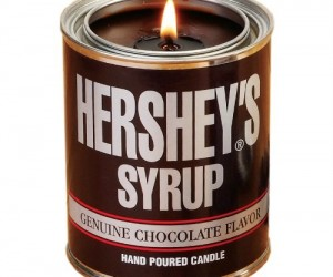 Everyone loves the smell of chocolate and the look of the classic Hershey's tin would look great anywhere!