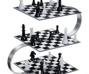 3 Dimensional Chess – As if chess wasn't already hard enough, try adding two more layers to the game…