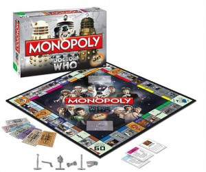 Any Whovian would love to monopolize the Doctor Who universe!