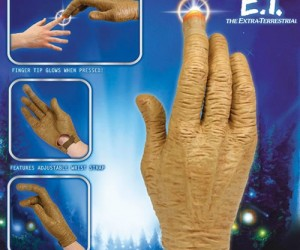 E.T. Glove – E.T. may have phoned home, but it looks like he left his hand behind…