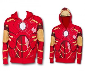 Iron Man Hoodie – It doesn't give you the strength of the original iron man suit, but it still looks really cool!