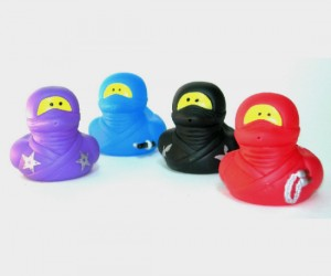 Ninja Rubber Duckies – Not to be confused with a ninja turtle