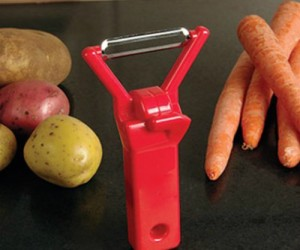It's more fun to prepare dinner while rockin' out and even better when your vegetable peeler is rockin' out too!