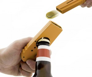 Bottle Cap Launcher – Great for popping off that bottle cap and launching it at your friends.