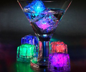 LED Ice Cubes – No more boring old ice cubes!