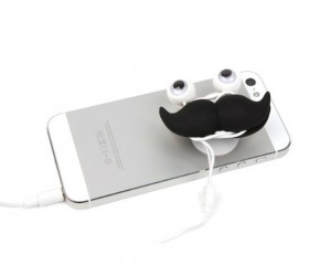 Wrap your earbuds like a sir and give your phone some classy style!