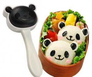 Panda Rice Mold Kit – That's right, you can actually make those cute little rice pandas yourself! It even has a seaweed punch to make the little black parts of […]