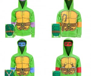 TMNT Hoodie – Now you can show off which Ninja Turtle is your favorite!