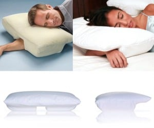 With so many different positions you can use this pillow with,  you are bound to find a comfortable one!