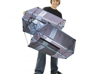 Have your own Star Wars style space war at your local park or beach with your very own Tie Fighter Kite!