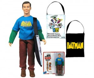 Own your very own Sheldon Action Figure… Bazinga!