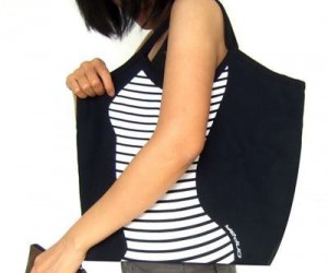 Contour Canvas Bag – Finally a canvas bag with some curves!
