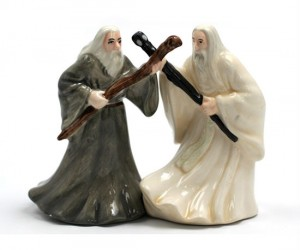 Gandalf Salt and Pepper Shakers – You shall pass the salt!