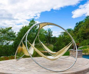 Infinity Hammock – Just looking at this hammock is relaxing! No more fighting over who gets the hammock, there's room for three!