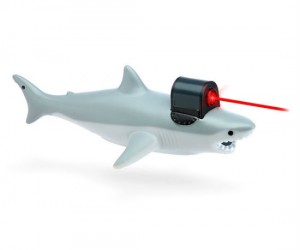You can make Dr. Evil proud with a shark with a frickin' laser pointer attached to it!