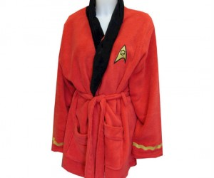 Uhura Bathrobe – Even a woman in space needs a relaxing day at the spa in a comfy bathrobe.