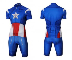 Captain America Cycling Jersey – Cycle like only a true American would